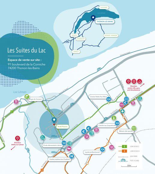 Les Suites du Lac 74200 Thonon-les-Bains – SIA Immobilier